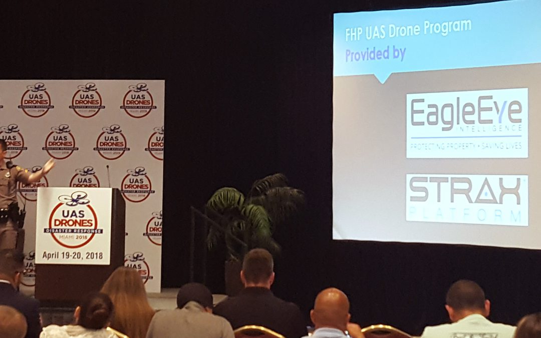 EagleEye Intelligence STRAX® Platform & UAV Expertise Highlighted at UAS Drones Disaster Response Conference