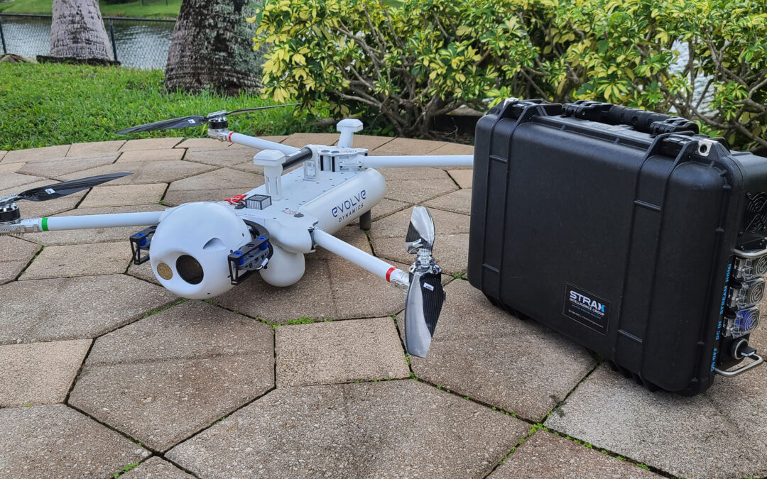 STRAX Platform completes integration with Sky Mantis UAV from Evolve Dynamics